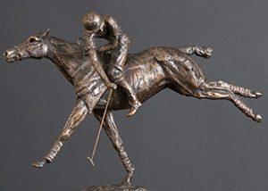 Polo - horse statue