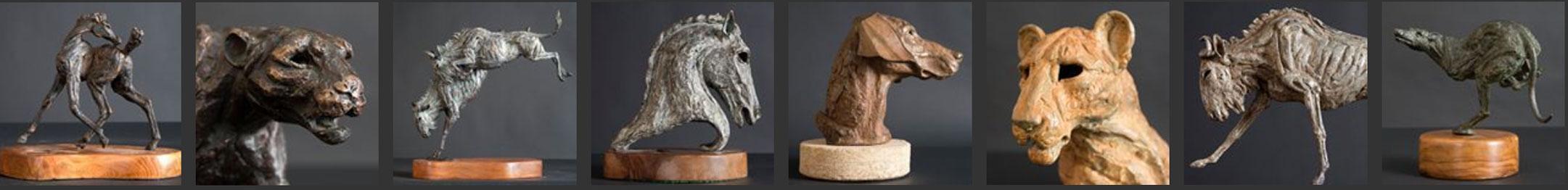 Jan Sweeney bronze sculptures