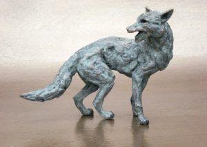 miniatures fox turning