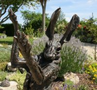 Big Hare bronze statue